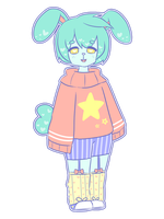 [OPEN] Pastel Fluffy Bun [Auction] by o-Aesthetic-o