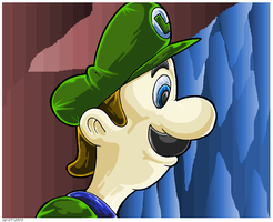 Luigi Wants To Know If You Brought A Light. by Virus-20