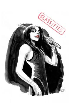 Art of comic book Classified by Marcelo-Costa