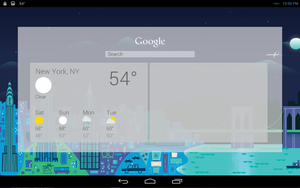 WIP Android Jelly Bean for Rainmeter V2 Google Now by ScoobSTi