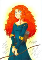 Merida by m-u-ll-e