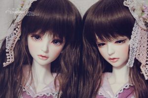 My Twins' new Look by charmingdoll