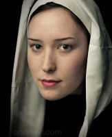 Girl Without a Pearl Earring by andrewfphoto