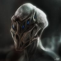 Creature Concept 4 Painting by AlexanderLevett