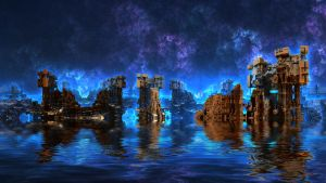 Blue Water District by HalTenny