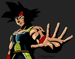 Bardock with Black shading by gokujr96
