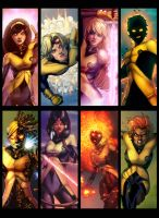 New Mutants by JamieFayX