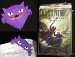 Haunter Bookmark by ShadowPhoenixRisen