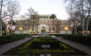 Doheny Library and Alumni Memorial Park by rlkitterman