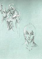 Sketch of the wallpaper (2) by Narniy