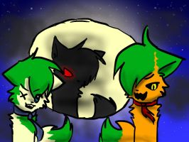 Halloween Collab Teaser Pic :3 by geckofan1