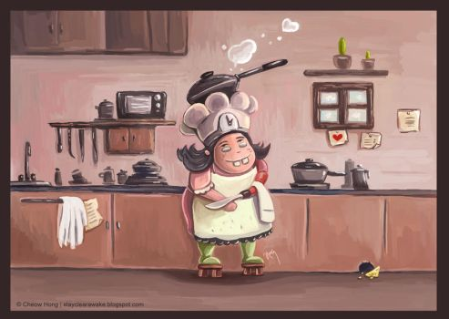 The Humble Cook by stayclearawake