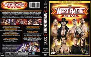 WWE Wrestlemania 25 cover v2 by eduard2009
