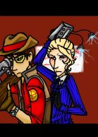 TF2OC: Right behind you... by Chibi-15