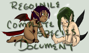 Regoinile Complete Species Document by Tenor