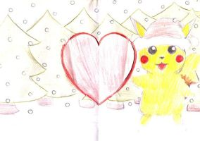 Pika card (1) by 23viki-chan