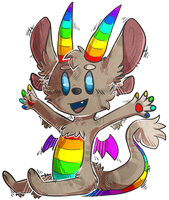 BE THE RAINBOW!! by CrownedVictory
