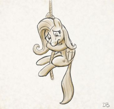 Pony at the End of Its Rope by WerdKcub