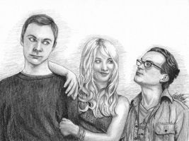 The Big Bang Theory by Gin85