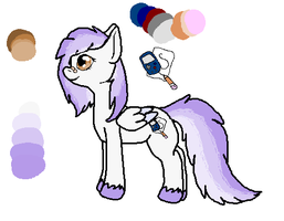 I made a pony character uwu by Ink--Chan