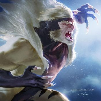 90's X-men: Sabertooth by zano