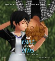 Roxas x Xion - The Fault in Our Stars (Mock Cover) by rev-rizeup