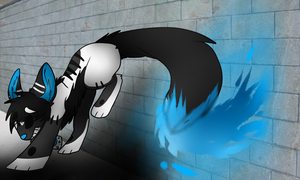 The Writings On The Wall (with speedpaint) by toxicfox100