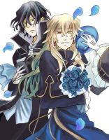 Pandora Hearts  - Brothers - by nyuhatter