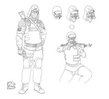 Stalker: Clear Sky, concepts by fgesn