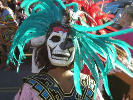Dancer on the Day of the Dead by Aquarianeye