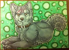 Iron Artist Challenge ACEO 27 by nightspiritwing