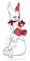 Ahren - Zangoose by Icarus-Skollsun