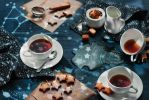 Starry night tea party by dinabelenko