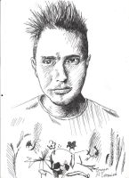 Mark Hoppus by Super-Midget