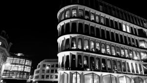 Building at Night by UseR2006