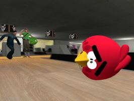 Angry Birds Bowling by sp19047
