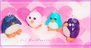 + a family of penguins + by neko-crafts