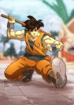 Goku color by Fpeniche