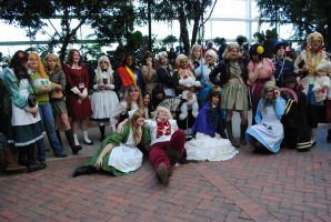 Females of Hetalia + 1 by Sarahcfgirl