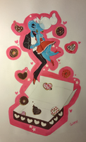 Cosmic Donuts of Love by ADHDtrooper