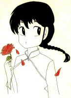 Ranma e una rosa... by joe-7