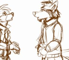Sketchie Animation: Hug by SilverDeni