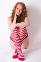 Striped Stockings by janlykke