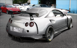 Mitsubishi Eclipse GT-R by Ophideus