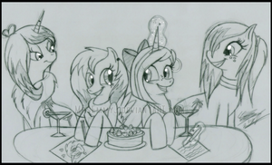 Meeting in the Cafe~ by MrsEmmyJ