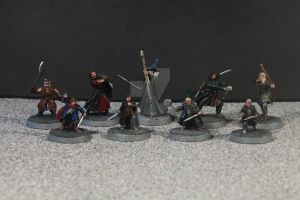 Warhammer Lord of the Rings the Fellowship by Matt1210