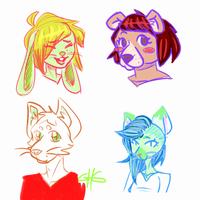 fur headshots by GoHumansGo