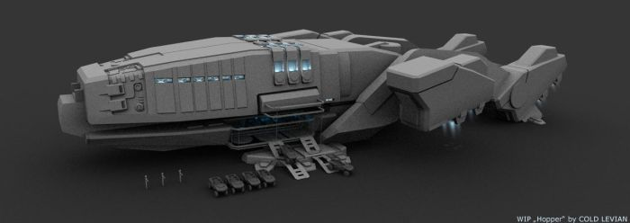 Dropship Hopper by Cold-Levian