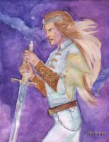 Birth of Wrath. Fingolfin by Mirianes
