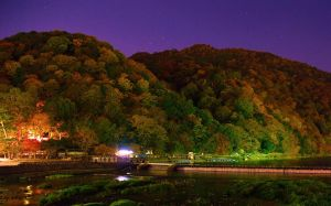 Arashiyama by Night by Mikewen